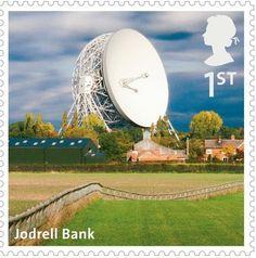 A-Z British landmarks - Jodrell Bank