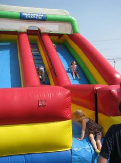 Relay For Life I want to do a bounce house fundraiser so bad!!