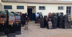 Máquinas caça-níqueis são apreendidas em Morro do Chapéu