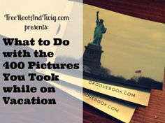 How many pictures do you take during vacation? And what do you do with them once you get home? Here's what I use (and love!) to print vacation photos.