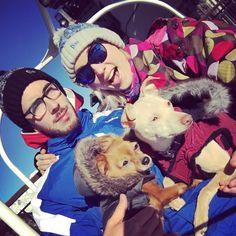 Les 4 fantastiques au ski  cc @lesarcsfilmfest #lesarcsfilmfest  @lekemar @kittyetlola by natoogram