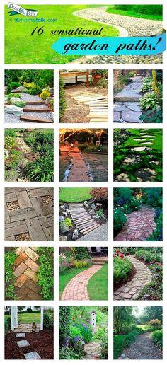 Ideas For Garden Paths Daisymaebelle