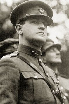 """Michael Collins Director of Intelligence during the Irish war of Independence in charge of an elaborate spy network and a group assassins called """"the squad"""". He was one of the most wanted men by the British Empire. Ireland Pictures, Images Of Ireland, Michael Collins, Julius Evola, Irish Independence, Easter Rising, Irish Language, Irish Eyes, Manx"""