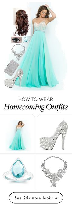 Prom- I picked this outfit for prom because the colors are popping and my favorite color is in the dress & I love glitter. Homecoming Outfits, Grad Dresses, Formal Dresses, Stunning Prom Dresses, Pretty Dresses, Prom Essentials, Turquoise Prom Dresses, Masquerade Fancy Dress, Perfect Prom Dress