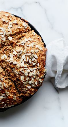 Seeded whole grain soda bread recipe: This makes amazing toast.