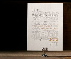 Wedding invitations by jacqueline