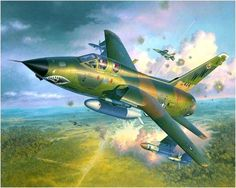 F-105E Thunderchief Vietnam War