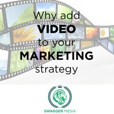 If you are not allocating enough of your marketing budget to video, this is what you are missing #blog #swag #marketing #digitalmarketing #video