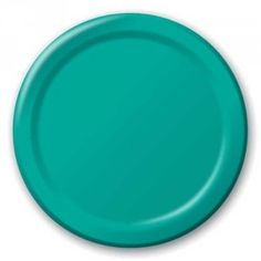 """CreativeConverting // Tropical Teal 9"""" Paper Plates   20ct - $3.25"""