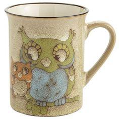 Owl Buddy Mug Pinned by www.myowlbarn.com