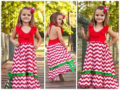 Girls Christmas Maxi Dress // Long Dress For by AdalynsBoutique Christmas Dresses For Tweens, Matching Christmas Outfits, Casual Holiday Outfits, Toddler Christmas Dress, Girls Christmas Dresses, Holiday Party Outfit, Girls Dresses, Girly, Glamour