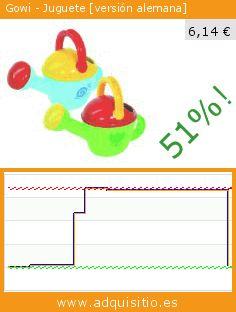 Gowi - Juguete [versión alemana] (Juguete). Baja 51%! Precio actual 6,14 €, el precio anterior fue de 12,60 €. https://www.adquisitio.es/gowi/juguete-versi%C3%B3n-alemana