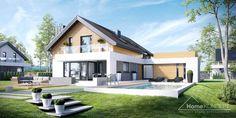 Projekt domu HomeKoncept 1 www.homekoncept.pl #projektdomu
