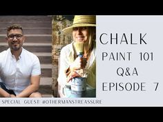 Chalk Paint 101 Questions et réponses: Épisode 7 - YouTube Draw With Jazza, Dining Hutch, Blue Painted Furniture, Tv Channels, Annie Sloan Chalk Paint, Best Youtubers, Question And Answer, Special Guest, Paint Finishes