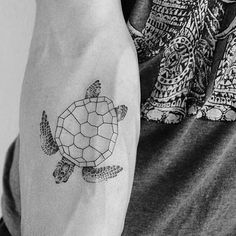 Geometric Turtle Shell on the Arm