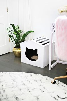 First of all, let me just say a resounding you're welcome to all you fellow cat owners out there. I know how tough it can be to love the adorable little kitty that naps on the couch with you but not always love the rest of the kitty gear that comes with t