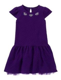 NWT Gymboree, PLUM PARTY, Textured Party Dress   Available in our online store at http://stores.ebay.com/starbabydesignshomestore