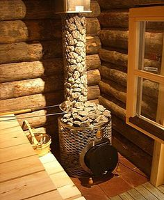 35 The Best Home Sauna Design Ideas You Definitely Like - No matter what you're shopping for, it helps to know all of your options. A home sauna is certainly no different. There are at least different options. Diy Sauna, Sauna Ideas, Diy Outdoor Fireplace, Wood Fireplace, Fireplace Kitchen, Saunas, Kitchen Wood Design, Sauna Design, Outdoor Sauna