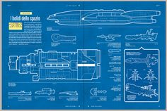 WIRED Italia - Spaceships Infographic by Phil Ellis, via Behance