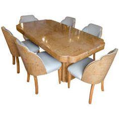 art deco epstein english dining suite art deco dining suite