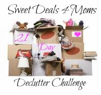 Are you ready to start the 21 day Declutter Challenge???