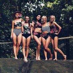 Sneak peek of our new swim line launching next weekend…  #bikini #2017