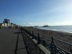Strolling on Hove Seafront