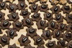 Vánoční kávové cukroví 3 Christmas Cakes, Candy, Cookies, Chocolate, Healthy, Sweet, Food, Crack Crackers, Xmas Cakes