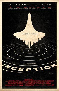 Inception 11 x 17Filmplakat von adamrabalais auf Etsy