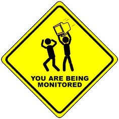 You are being monitored! by tony.d.barker, via Flickr