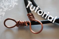 How to make a leather cord clasp - Free