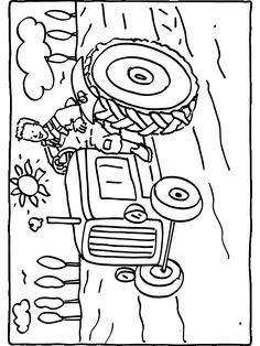 Kleurplaten Printen Trekker.196 Beste Afbeeldingen Van Kleurplaten Kleurplaten