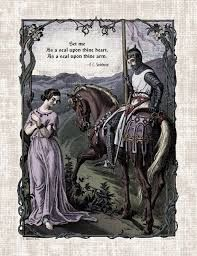 Image result for medieval romantic love