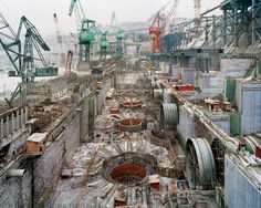 View Dam Three Gorges Dam Project, Yangtze River, China by Edward Burtynsky on artnet. Browse upcoming and past auction lots by Edward Burtynsky. Dam Construction, Three Gorges Dam, Paris Skyline, Abandoned, Documentaries, World, Pictures, Industrial Photography, Essential Elements