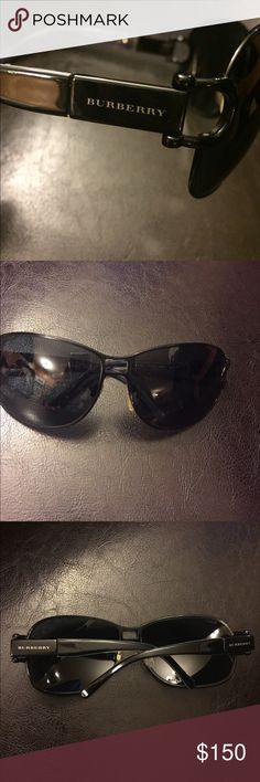 Authentic Burberry Unisex Black Sunglasses 💯% Authentic Burberry Sunglasses. Never used. No scratches on lenses. Beautiful unisex sunglasses. Comes with whatever seen on photos. Burberry Accessories Sunglasses