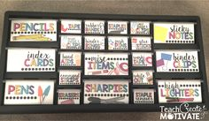 Teach Create Motivate : Teacher Toolbox {MONDAY MADE IT!} +Giveaway