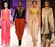 designer dhoti saree - Google Search