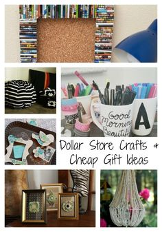 36 Dollar Store Crafts and Cheap Gift Ideas   FaveCrafts.com