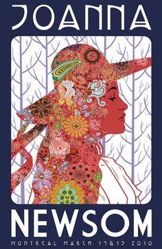 Joanna Newsom poster art