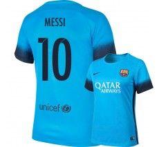 Nike Women's Messi #10 Barcelona Stadium Third Jersey 15/16