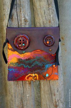 Купить Сумка По дороге к Африке - абстрактный, африканский стиль, африканские мотивы, маленькая сумочка