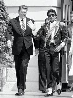 Ronald Reagan and Michael Jackson, if you know who these people are then you might want to pin this. Even if you don't pin it anyway...  You'll thank me later.