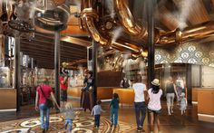 A Willy Wonka-Style Chocolate Factory Is Coming to Universal Studios