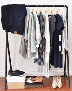 via @trunkclubwomen on IG #closet #streamlined #minimalist