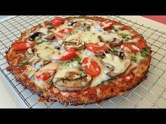 You can make the best cauliflower pizza crust recipe that will not fall apart. Slice it, hold it, eat it--it keeps it's shape --and it actually tastes like p...