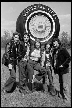 I have to say,that is one of the coolest pics I've seen. Taken in 1976 Paul McCartney and wings. The Wings Over America tour, he had the limo pull over and take this shot. Detroit, MI.