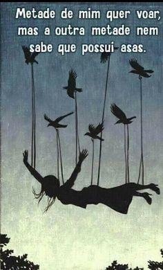 Blogue do Lado Avesso: Sequer sabe das asas...