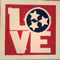 Tennessee love canvas tutorial. Would like to adjust for VA or PA.