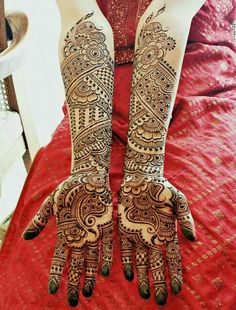 50 Most beautiful Full Hand Mehndi Design (Full Hand Henna Design) that you can apply on your Beautiful Hands and Body in daily life. Mehndi Designs Book, Full Hand Mehndi Designs, Mehndi Designs 2018, Mehndi Design Pictures, Mehndi Designs For Girls, Beautiful Henna Designs, Dulhan Mehndi Designs, Mehandi Designs, Henna Mehndi