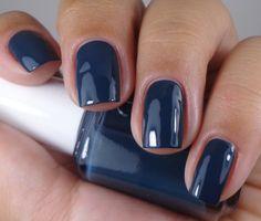Essie Dress To Kilt Collection Fall 2014 Essie - Style Cartel Navy Blue Nail Polish, Cobalt Blue Nails, Essie Nail Polish, Nail Polish Colors, Gel Nails, Acrylic Nails, Gel Polish, Dark Blue Nails, Essie Colors